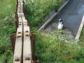 鐵道紀念物或遺跡:省鐵縱貫線內湖川橋北岸軌枕牆