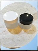玻璃容器-容器-瓶瓶罐罐-化妝品容器、化工容器.容器:30g黑蓋 50g白蓋-玻璃面霜盒.jpg
