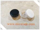 容器-瓶瓶罐罐-化妝品容器、玻璃容器、化工容器.容器:5g小圓盒白蓋及黑蓋.jpg