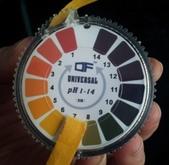 手工皂-工具電子磅秤,電子秤,微量秤,溫度計,波浪刀, 橡皮刮刀,乳膠手套,PH試紙,水氧機,擴香竹:圈裝PH-1-14試紙.jpg