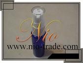 容器-瓶瓶罐罐-化妝品容器、玻璃容器、化工容器.容器:20ml藍色壓瓶-NIO.
