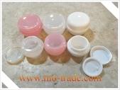 容器-瓶瓶罐罐-化妝品容器、玻璃容器、化工容器.容器:10g及20g蘑菇盒-透明-白色-透明.jpg