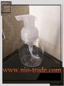 容器-瓶瓶罐罐-化妝品容器、玻璃容器、化工容器.容器:250cc透明新款泡沫慕絲瓶.jpg