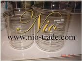 玻璃容器-容器-瓶瓶罐罐-化妝品容器、化工容器.容器:燒杯-材質玻璃-250ml & 500ml-NIO