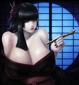 Okai in CG萌窩:和服おっぱい