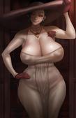 Okai in CG萌窩:Lady Dimitrescu