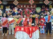 幼兒園生活照:領紅包過新年1