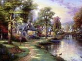 與大自然同住:溫馨田園風景油畫15-1.jpg
