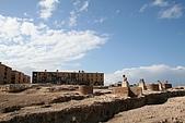 Egypt - Alexandria 亞歷山卓:龐貝之柱旁的住家