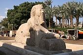 Egypt - Cairo 開羅:埃及第二大的獅身人面像