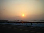 菊島的秋天1015'05:北環路上的夕陽