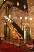 Egypt - Cairo 開羅:清真寺內主持禮拜的階梯(講壇)