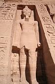 Egypt - Abu Simbel 阿布辛貝:阿布辛貝-納芙塔蒂神殿-2