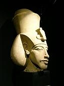 Egypt - Alexandria 亞歷山卓:阿曼和闐四世頭部雕像