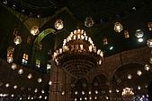 Egypt - Cairo 開羅:默德阿里清真寺內部一景