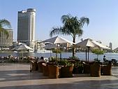 Egypt - Cairo 開羅:飯店的露天咖啡座