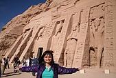 Egypt - Abu Simbel 阿布辛貝:阿布辛貝-納芙塔蒂神殿-4