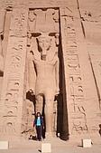 Egypt - Abu Simbel 阿布辛貝:阿布辛貝-納芙塔蒂神殿-3