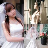 漂亮的婚紗:相簿封面