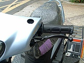 殘障相關改裝 :手煞車控制桿.JPG