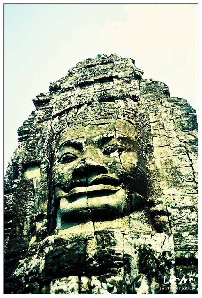 LC-A+ 柬埔寨 吳哥:巴戎廟Bayon
