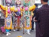 2009年2月15日關山高山嚴福德宮進香照(回程時):六叔朋友聖軍會在六叔工廠時2.JPG