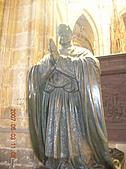 中歐14:捷克(布拉格.城堡區):捷克>布拉格.城堡區>聖維特大教堂>神父雕像