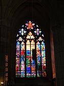 中歐14:捷克(布拉格.城堡區):捷克>布拉格.城堡區>聖維特大教堂>彩繪玻璃窗1