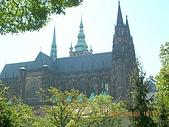中歐14:捷克(布拉格.城堡區):捷克>布拉格.城堡區>遠眺聖維特大教堂1