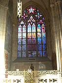 中歐14:捷克(布拉格.城堡區):捷克>布拉格.城堡區>聖維特大教堂>彩繪玻璃窗2
