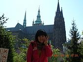 中歐14:捷克(布拉格.城堡區):捷克>布拉格.城堡區>遠眺聖維特大教堂2