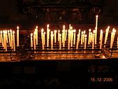 義大利蜜月之旅1:科摩湖區教堂_許願蠟燭