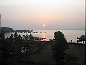 Xuite活動投稿相簿:琵琶湖的日出(旅亭紅葉)