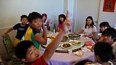 080705-福壽山露營:中午,終於趕到梨山吃中餐了~