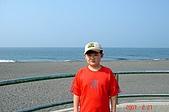 070220-春節高雄台南遊:兒子與沙灘