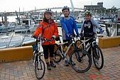 071216-淡水單車半日遊:到漁人碼頭了~