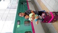 21函館新幹線合照.JPG - 1050721暑假日本行