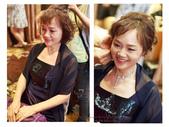 媽媽妝、媽媽造型、媽媽髮型、宴會造型、親友妝、媽媽短髮造型:媽媽造型 媽媽妝 婆婆造型 媽媽妝髮/短髮媽媽造型