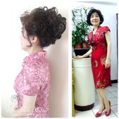 媽媽妝、媽媽造型、媽媽髮型、宴會造型、親友妝、媽媽短髮造型:媽媽造型 媽媽妝 婆婆造型 媽媽妝髮