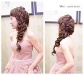 益權♥思靜 新上享馬來西亞餐廳/茱諾婚紗-巫葳葳新娘秘書:新娘造型-編髮送客