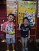 5歲2個月:5歲2個月  2012機器人展   2012/8/12