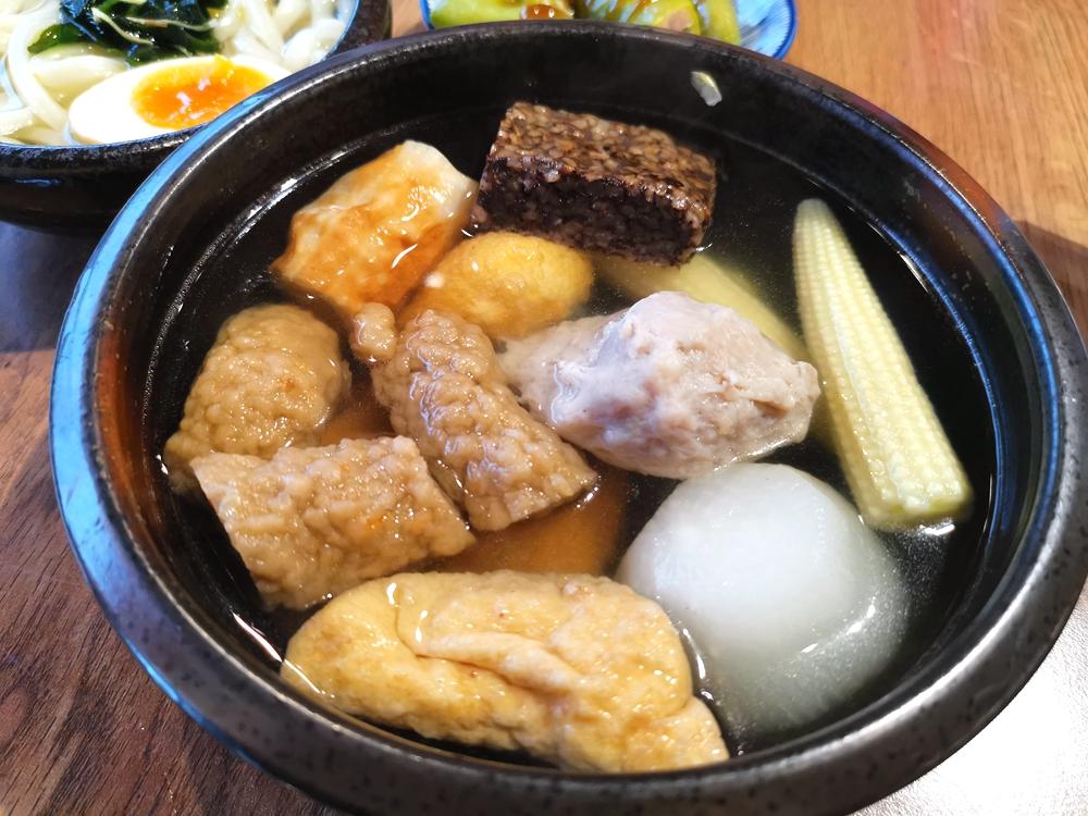 鮮肉製丸X關東煮食堂,湯頭清爽的關東煮