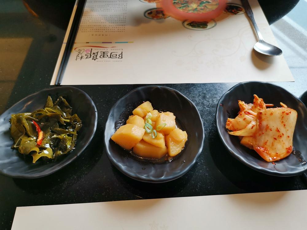阿里郎村落,人蔘雞、馬鈴薯豬骨湯都超級美味