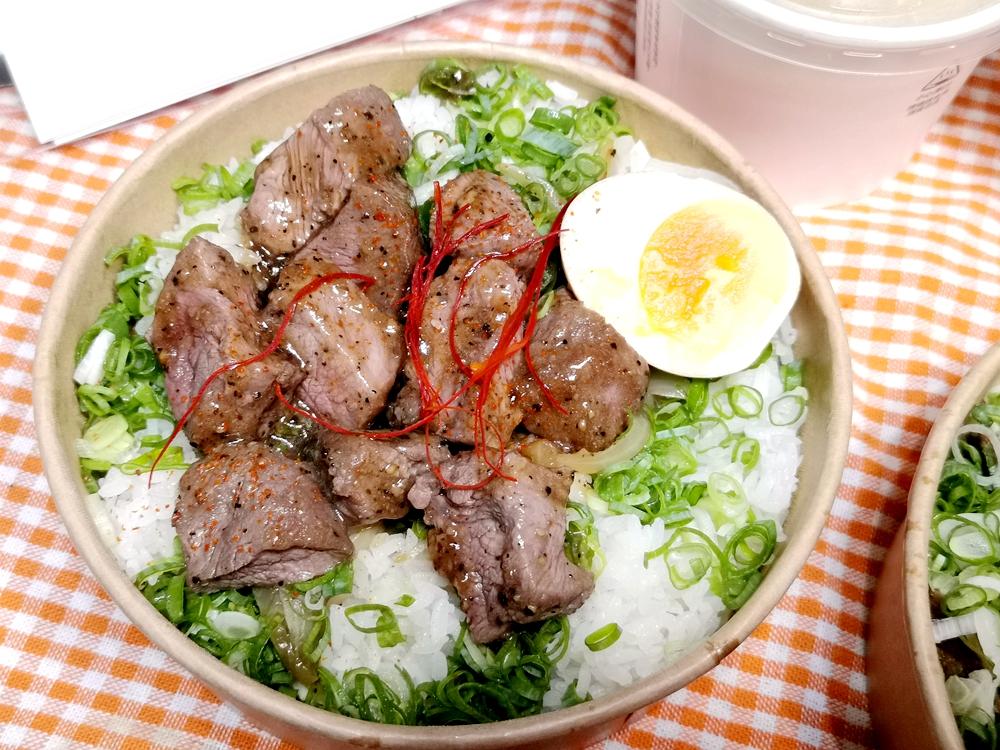 藝奇日本料理岩板燒,經典主餐、外帶便當/炙燒嫩煎骰牛釜飯/牛肋釜飯
