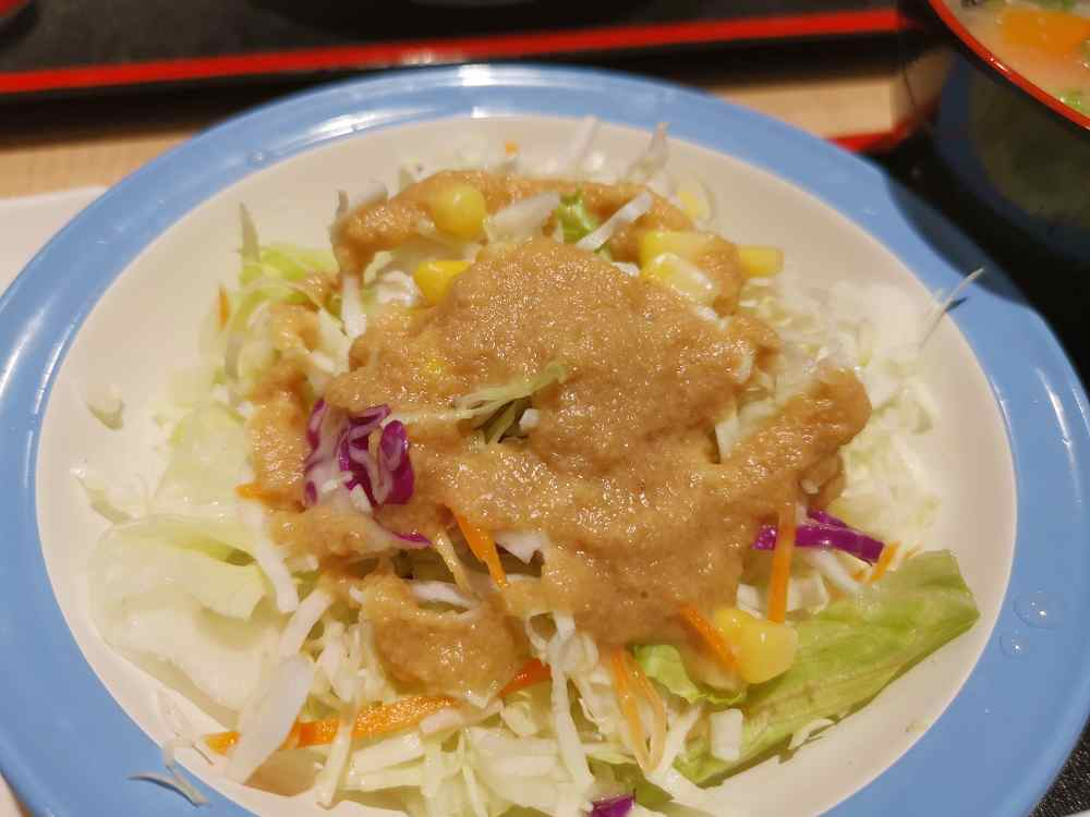 松屋,台灣三號店,蔥香鹽梅花豬肉真的很美味啊!