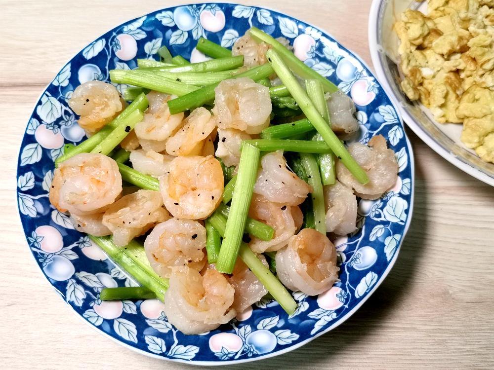 蘆筍炒蝦仁/蘆筍料理/蝦仁料理/蘆筍食譜/蝦仁食譜
