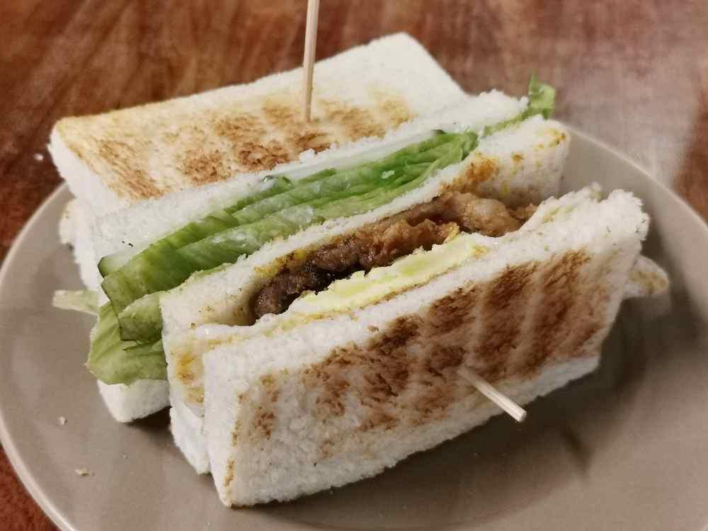 阿貓碳烤吐司,明太子鮪魚好滋味,板橋深夜美食