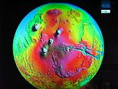 980726科博館DIY:火星的雷達波段圖