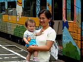 910601內灣小火車:火車和我1.JPG