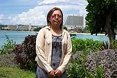 92.07.16~07.19 關島旅行:希爾頓國際飯店花園一隅